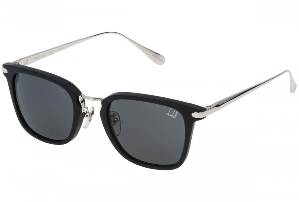 نظارات دنهل شمسية للرجال - شكل مستطيل - لون أسود - زكي للبصريات