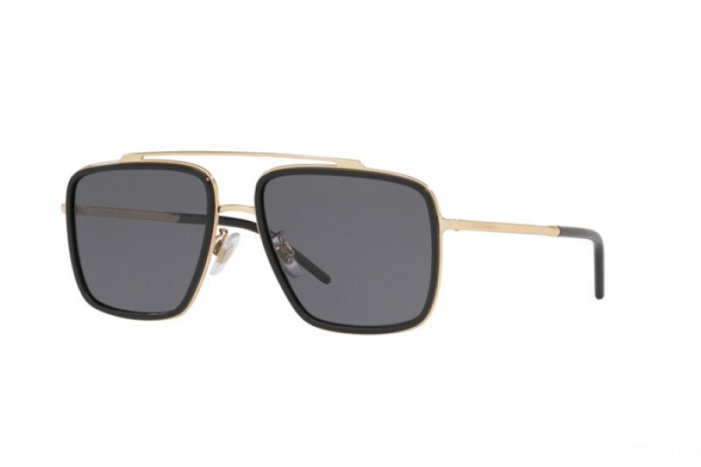 احسن نظارة دولسي اند جابانا شمسية للرجال - شكل مربع - لون اسود - زكي