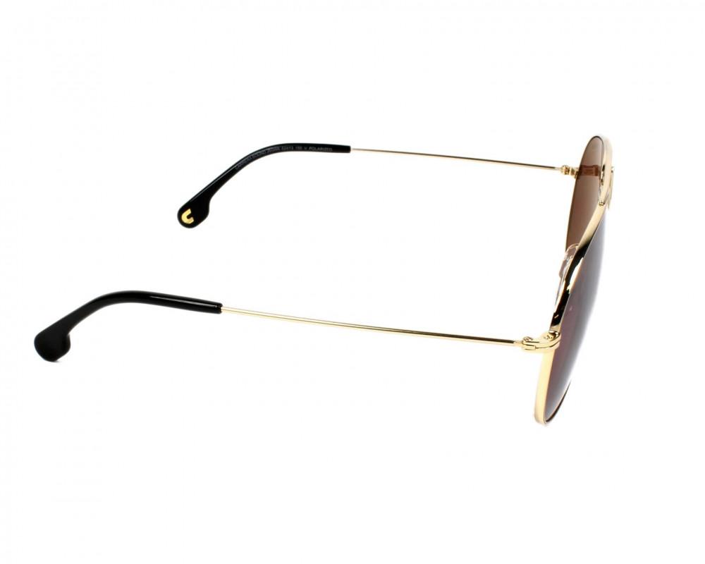 نظارة كاريرا شمسية للجنسين - شكل أفياتور - لون ذهبي - زكي للبصريات
