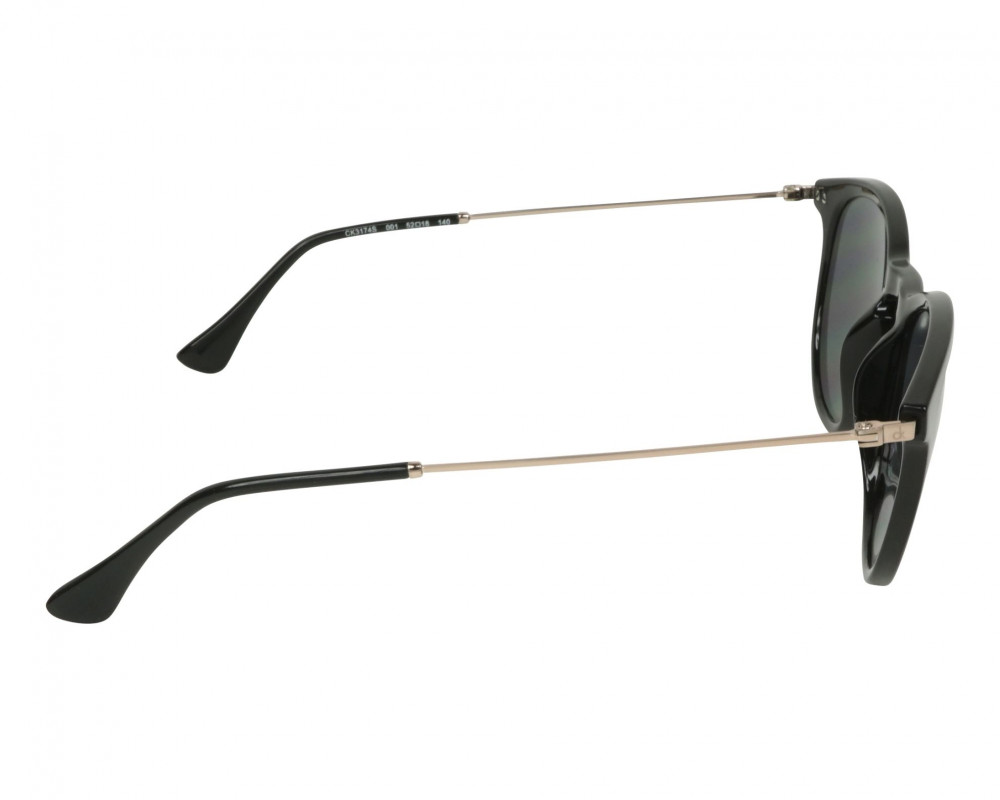نظارات كالفن كلاين الشمسية للجنسين - دائريه - سوداء - زكي للبصريات