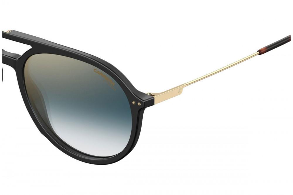 احسن نظارة كاريرا شمسية للرجال - أفياتور - لونها أسود - زكي للبصريات