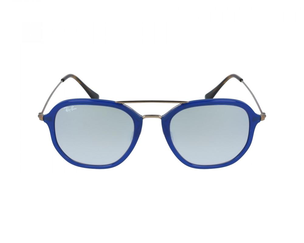 افضل نظارة ريبان شمسية للرجال -  أزرق - زكي للبصريات