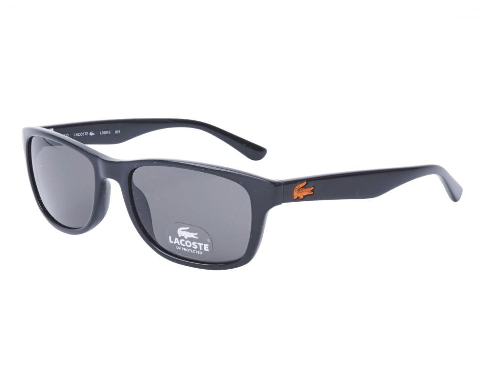نظارات شمسية رجالية لاكوست - بيضوي - اسود - زكي للبصريات
