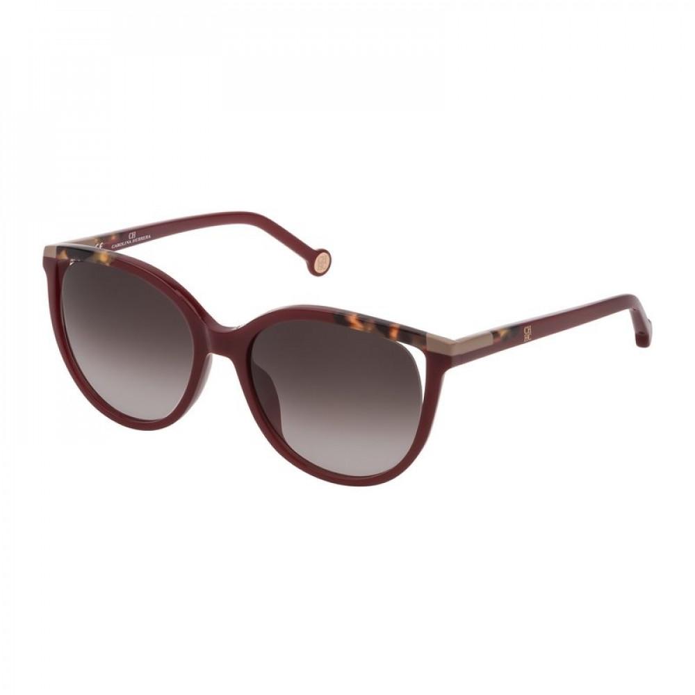 نظارات كارولينا شمسية للنساء - شكل دائري - لون عودي - زكي