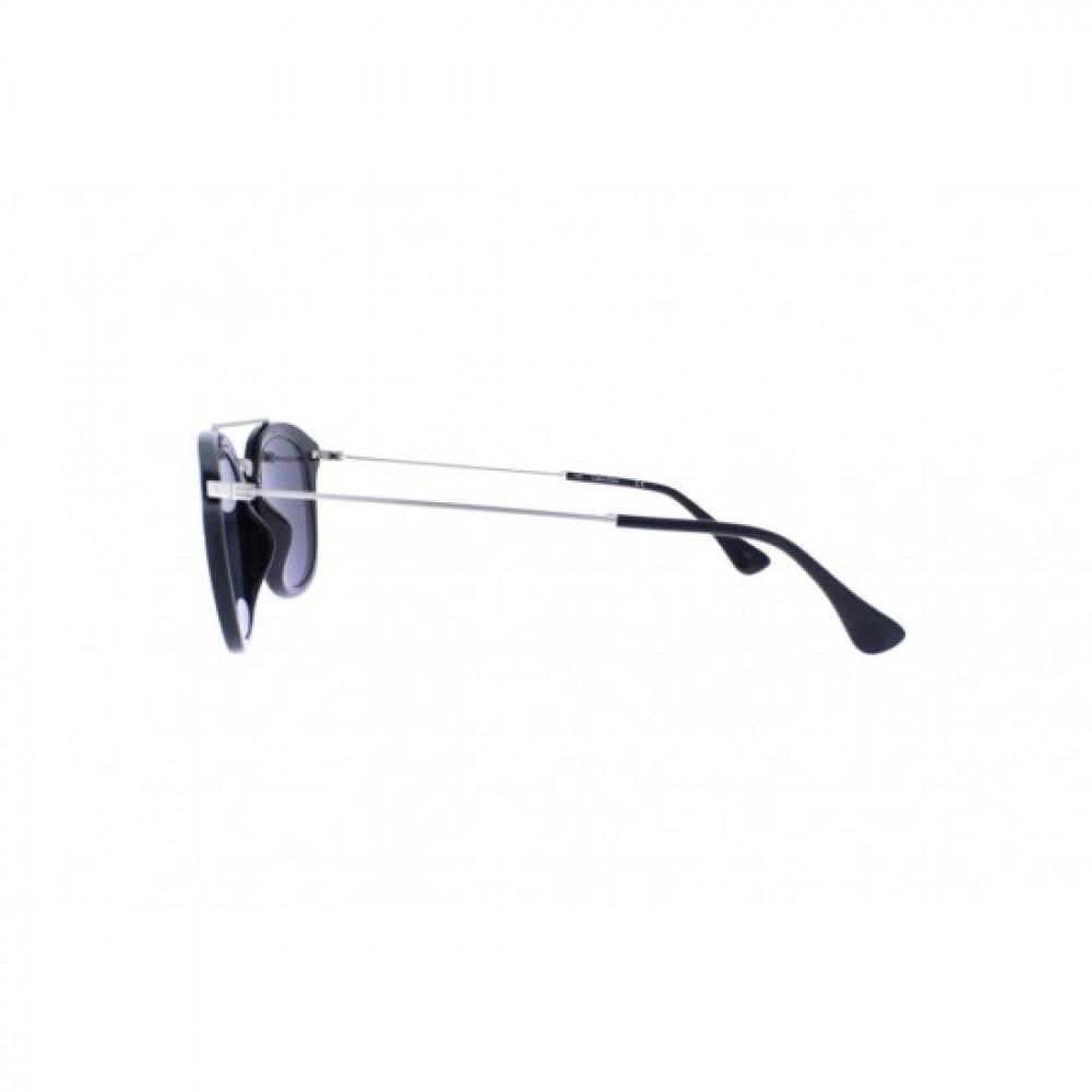 نظارات كالفن كلاين الشمسية للجنسين - غير منتظمه الشكل - لون أسود - زكي