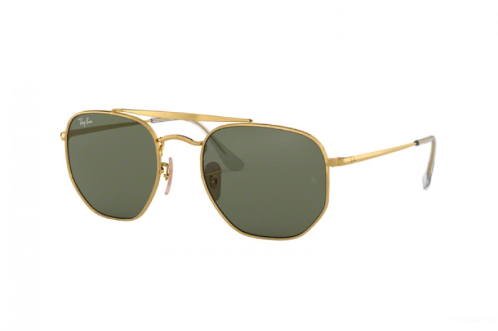 نظارة ريبان شمسية للرجال والنساء - لون فضي - مربعة الشكل - زكي