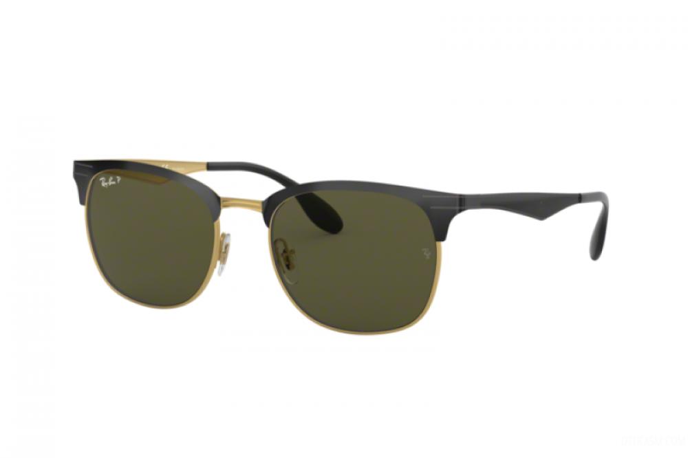 نظارة ريبان شمسية للرجال - واي فيير - اسود - زكي للبصريات