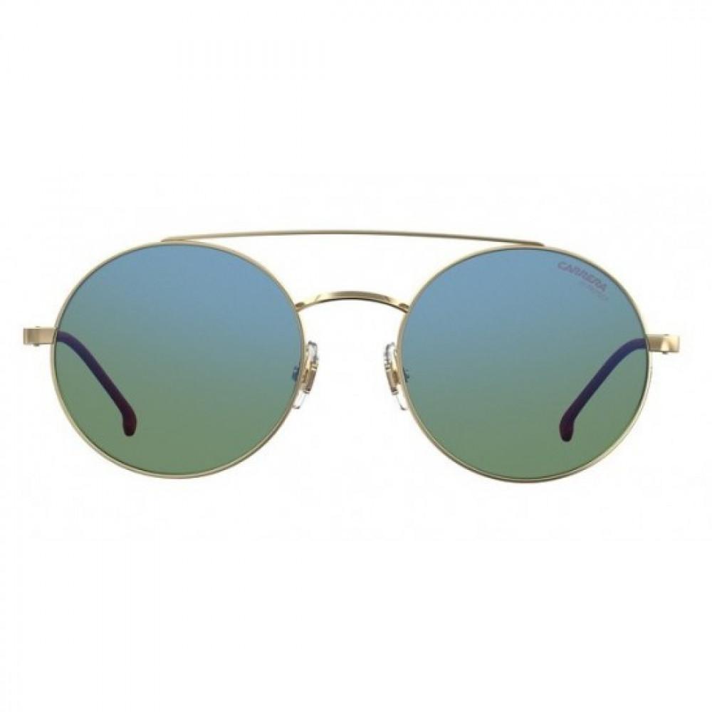 سعر نظارة كاريرا شمسية للرجال - شكل دائري - لون ذهبي - زكي للبصريات