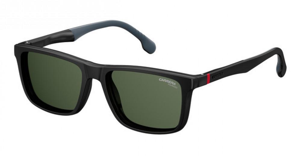 نظارة كاريرا شمسية رجالية - شكل مربع - لونها أسود - زكي للبصريات