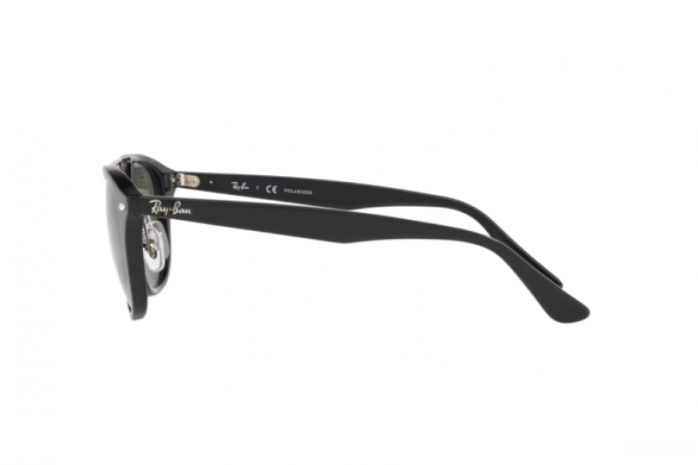 احسن نظارة ريبان شمسيه للرجال - شكل واي فير - باللون الأسود - زكي