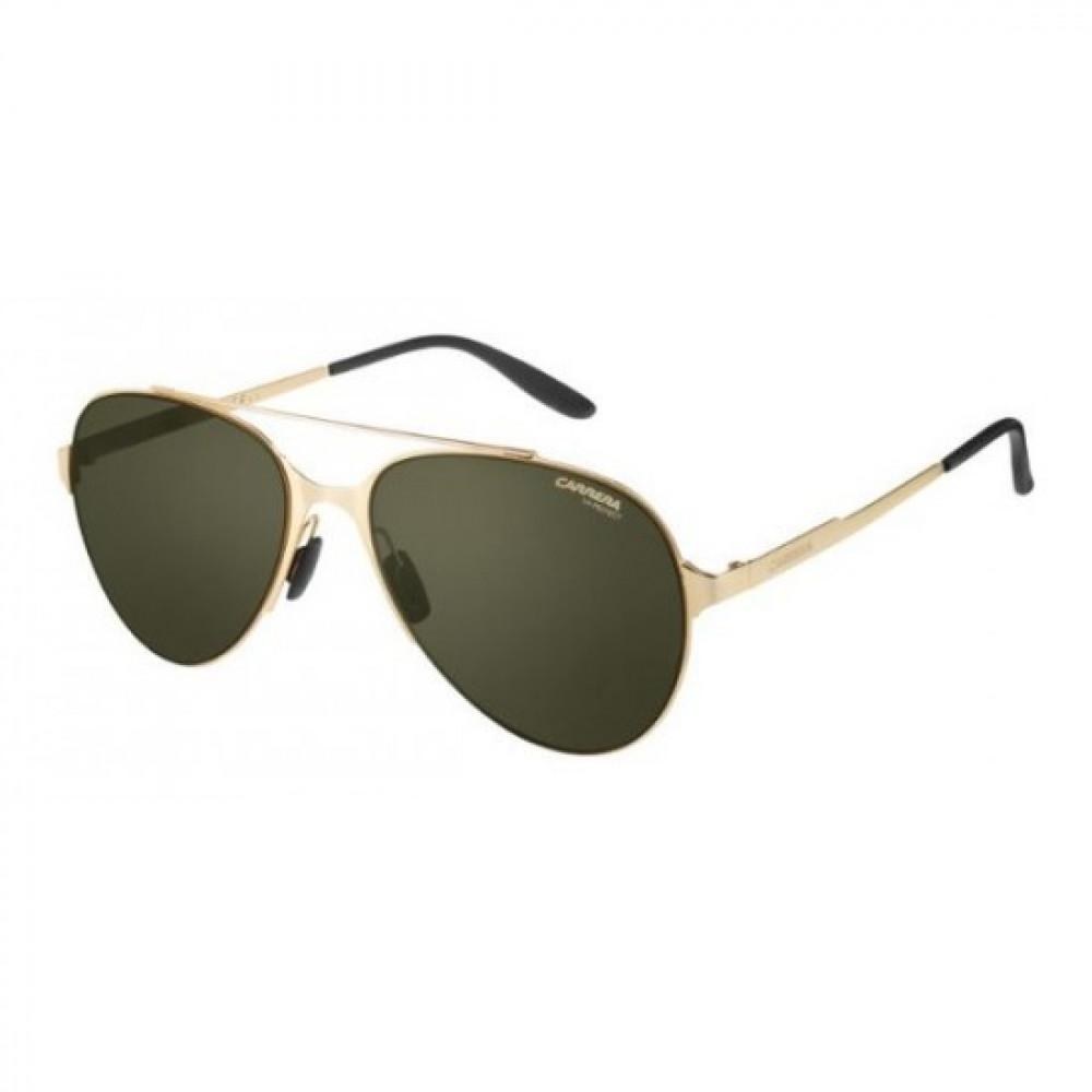 نظارة كاريرا شمسية رجاليه - شكل افياتور - لونها ذهبي - زكي للبصريات