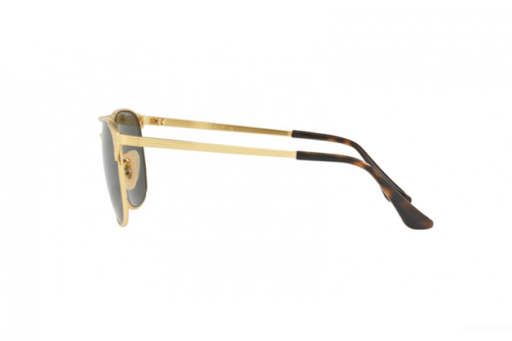 احسن نظارة ريبان شمسية للرجال والنساء - واي فيرر - ذهبية - زكي للبصريا