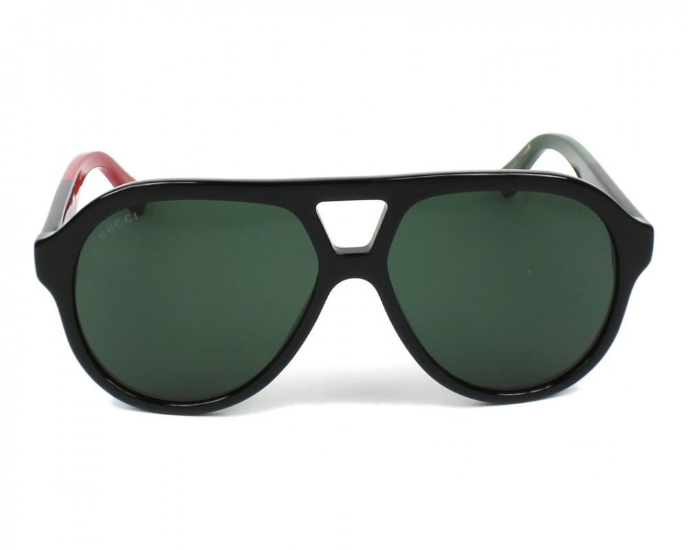 افضل نظارة قوتشي شمسيه رجالية - افياتور - لون اسود - زكي للبصريات