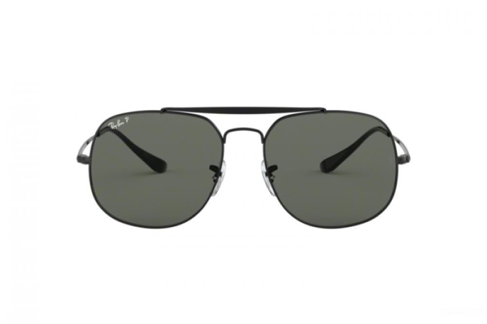 سعر نظارة ريبان شمسية للرجال - مربعة الشكل - لون اسود - زكي للبصريات