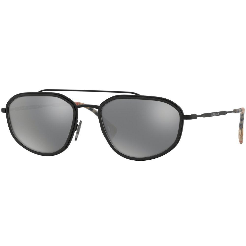 نظارة بربري شمسية للرجال - شكل غير منتظم - لون أسود - زكي للبصريات