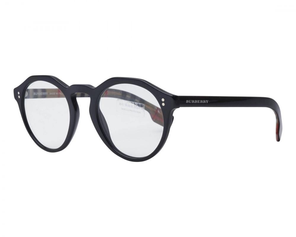 نظارة بربري شمسية للجنسين - شكل دائري - لون أسود - زكي للبصريات