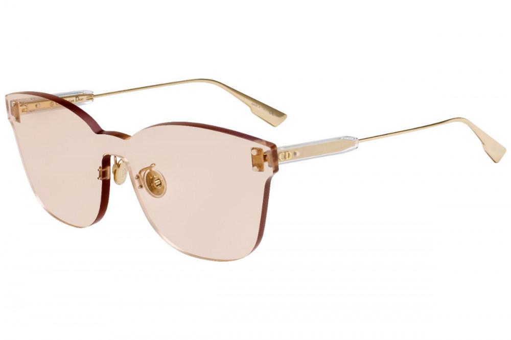 نظارات شمسية نسائية ديور - شكل كات أي - لون وردي - زكي
