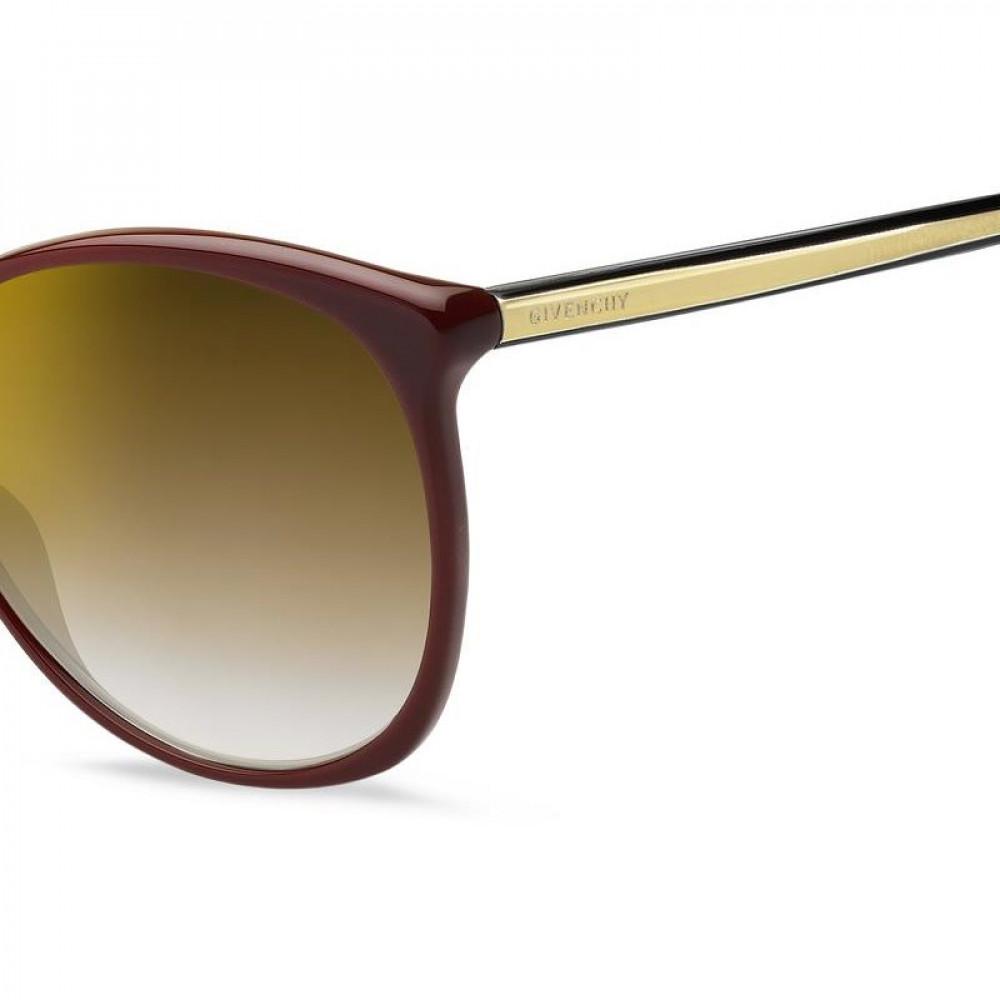 نظارات جفنشي الشمسيه للنساء - شكل كات أي - لون عودي - زكي للبصريات