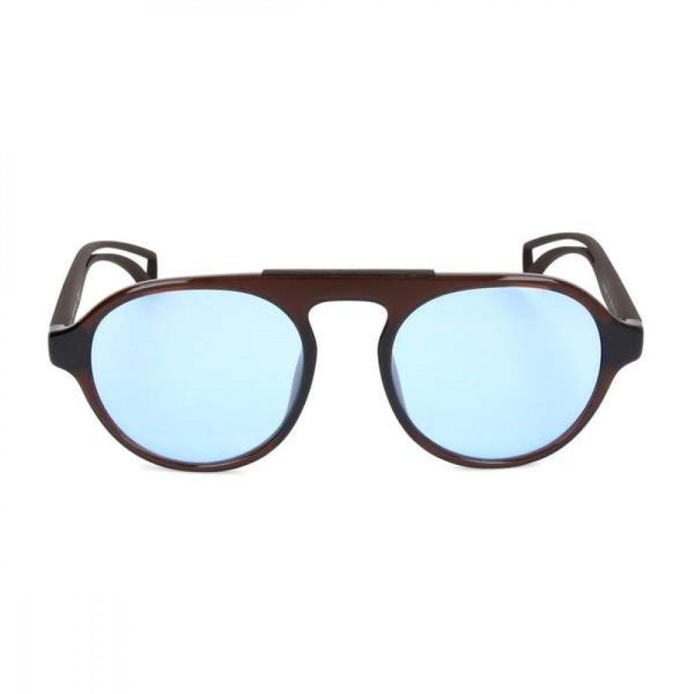 نظارات كالفن كلاين الشمسه للرجال - شكل دائري - لون بني - زكي للبصريات