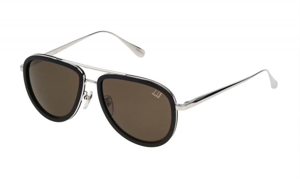 نظارات دنهل شمسيه للجنسين - افياتور - لون أسود - زكي للبصريات