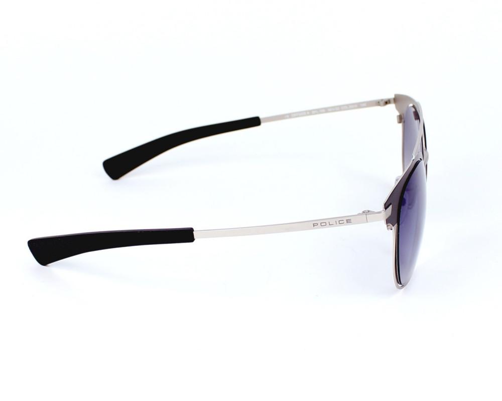 احسن نظارة بوليس شمسية رجالي - شكل دائري - لون أسود - زكي للبصريات