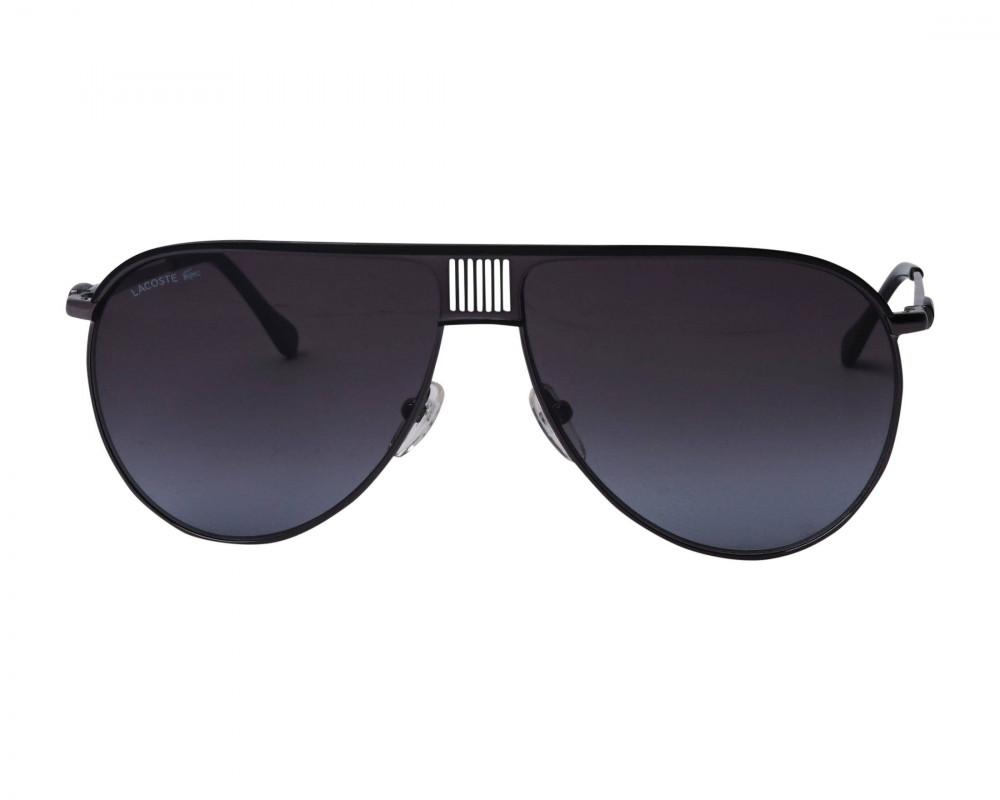 سعر نظارات شمسية رجالية لاكوست - افياتور - اسود - زكي
