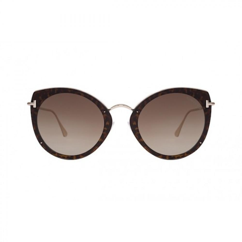 سعر نظارات توم فورد نسائي شمسيه - كات أي - لون ذهبي - زكي للبصريات