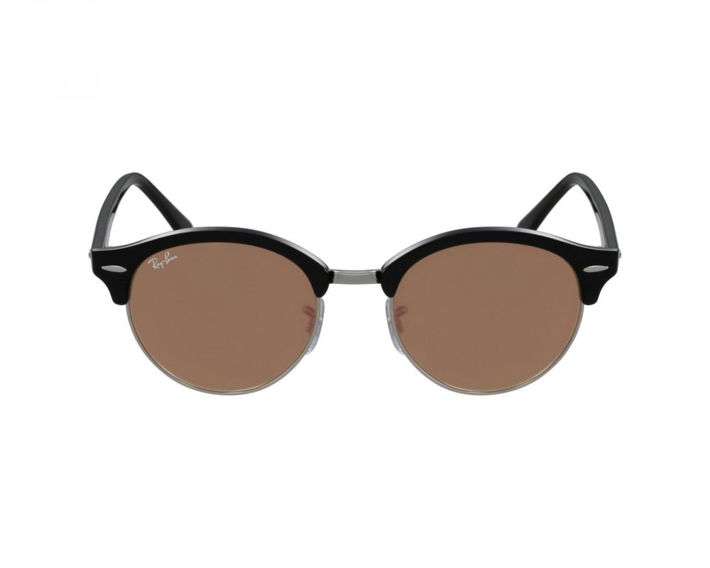 افضل نظارة ريبان شمسية للرجال -  أسود - دائريه - زكي للبصريات
