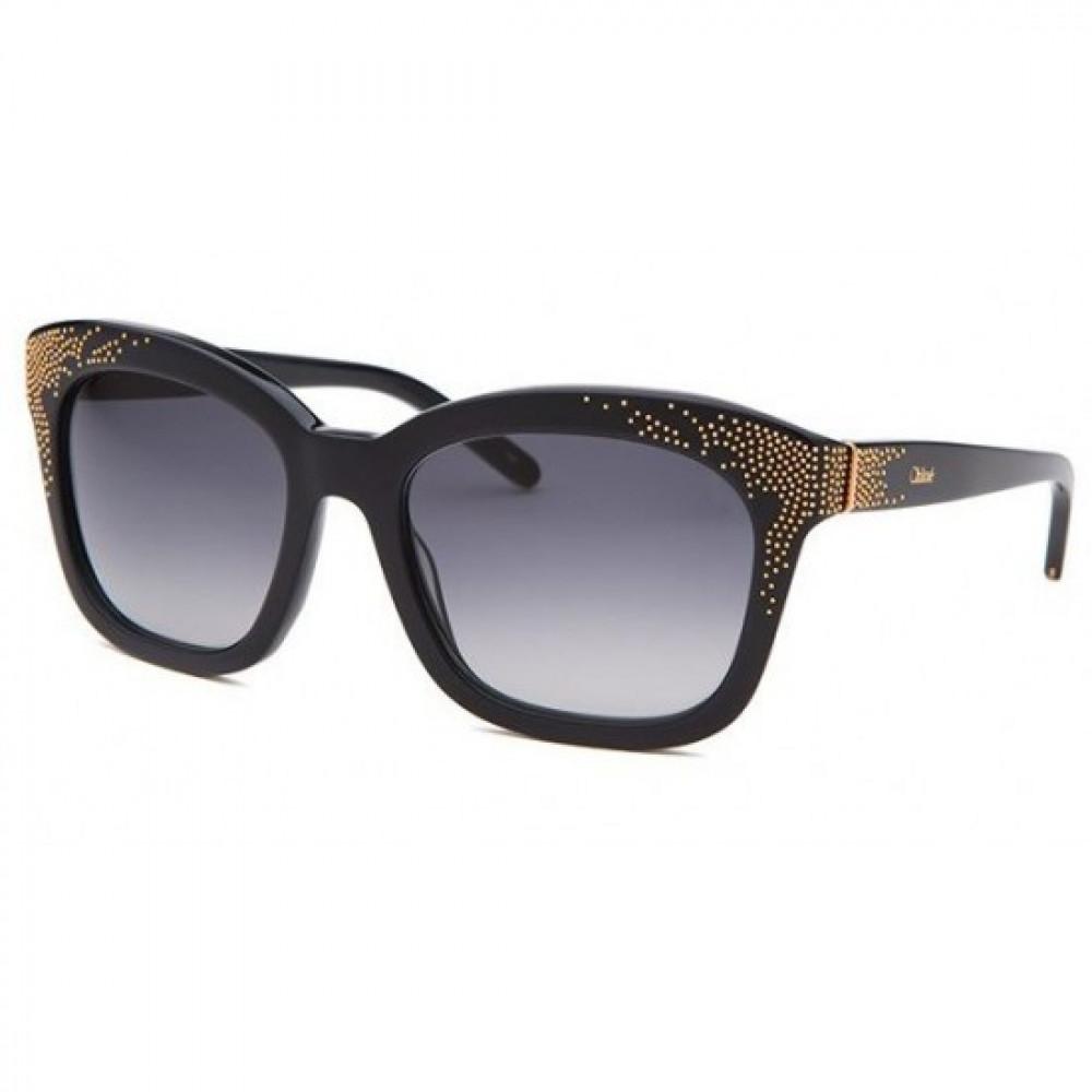 نظارة كلوي شمسية للنساء - شكل كات أي - لون أسود - زكي