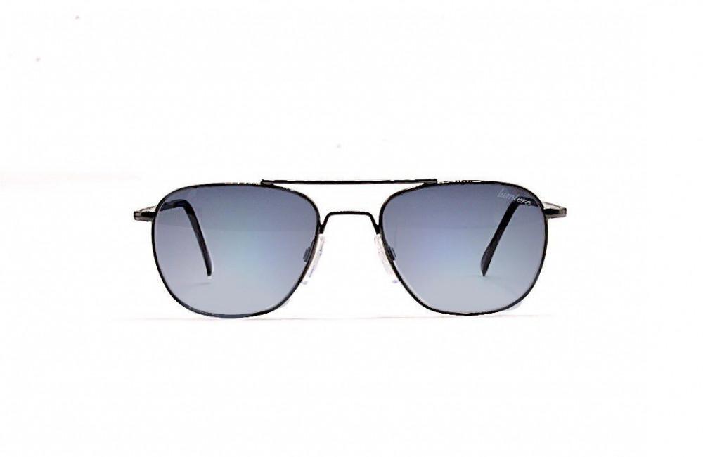 سعر نظارة لومير شمسية للرجال - شكلها غير منتظم - لونها رمادي - زكي