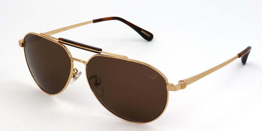 نظارات دنهل شمسيه للجنسين - افياتور - لون ذهبي - زكي للبصريات