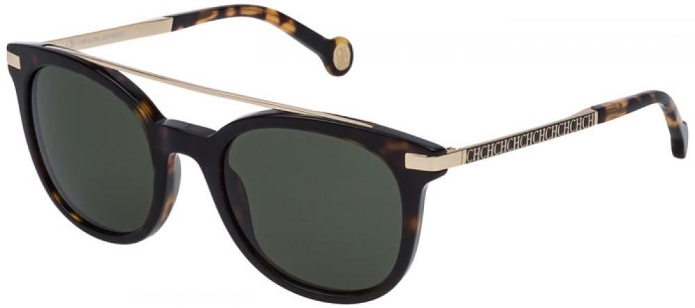 نظارات كارولينا شمسية للنساء - شكلها دائري - لون تايجر - زكي
