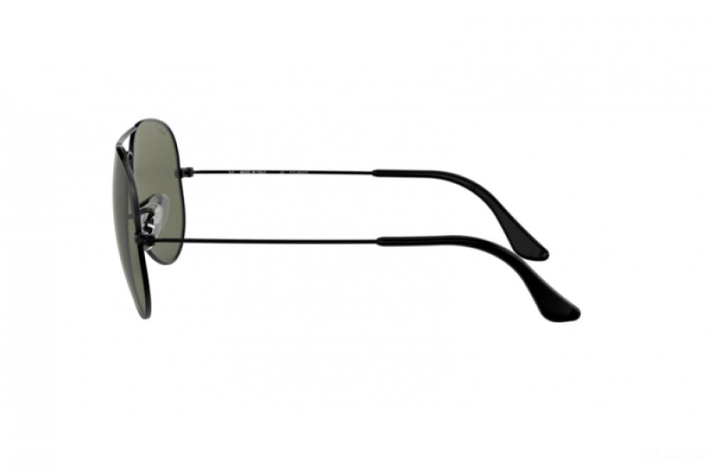 احسن نظارة ريبان شمسية للرجال - لون اسود - افياتور - زكي للبصريات