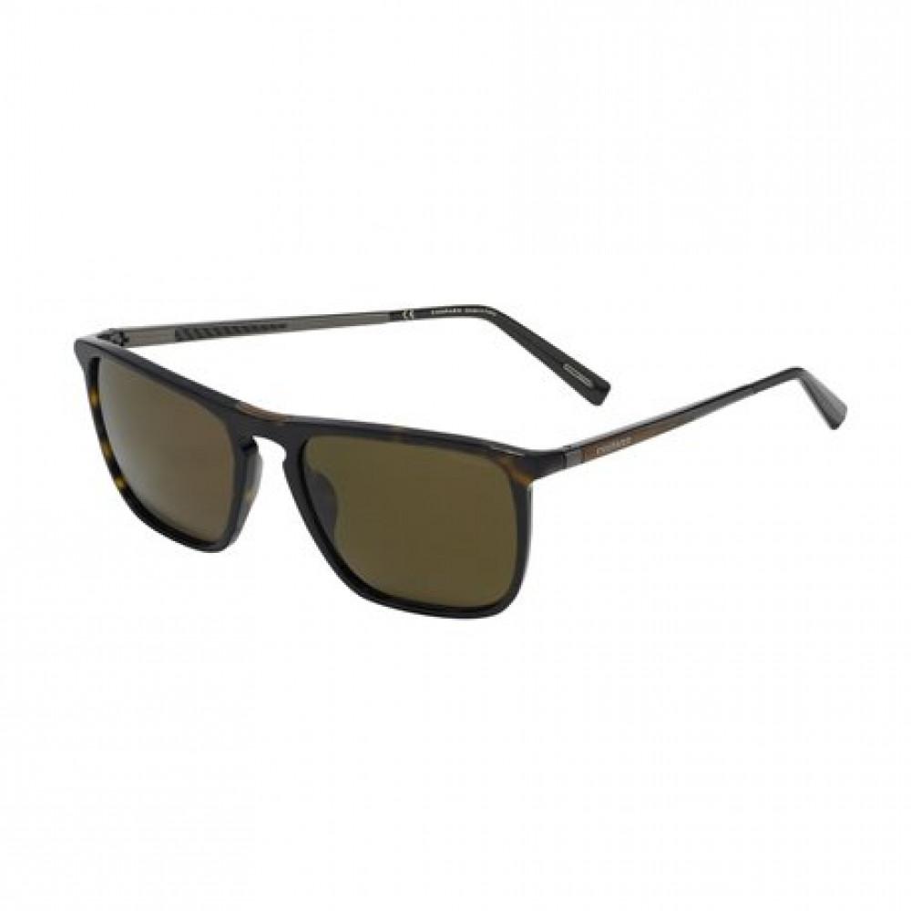 نظارة شوبارد شمسية للرجال - شكل مربع - لون بني - زكي للبصريات