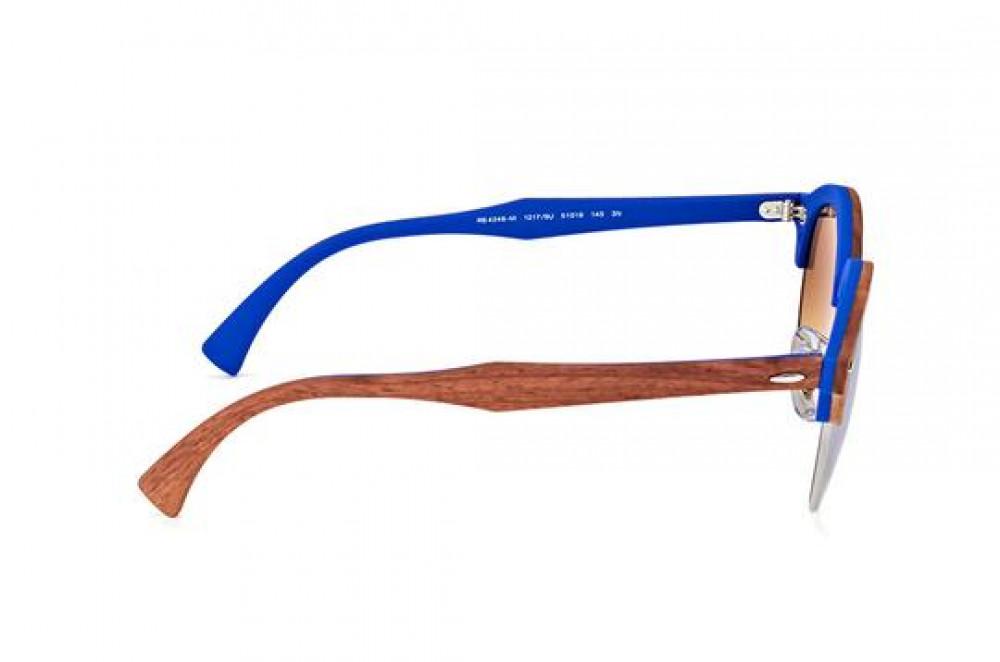 احسن نظارة ريبان شمسية للرجال -  لون بني - زكي للبصريات