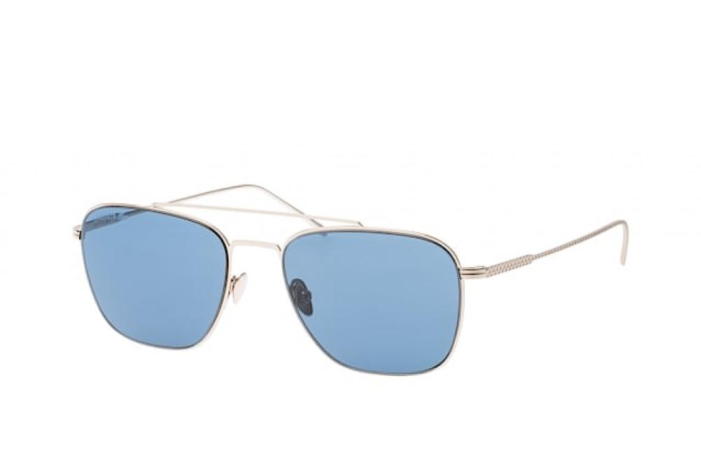 نظارة لاكوست شمسي للجنسين - شكل افياتور - لون نحاس - زكي للبصريات