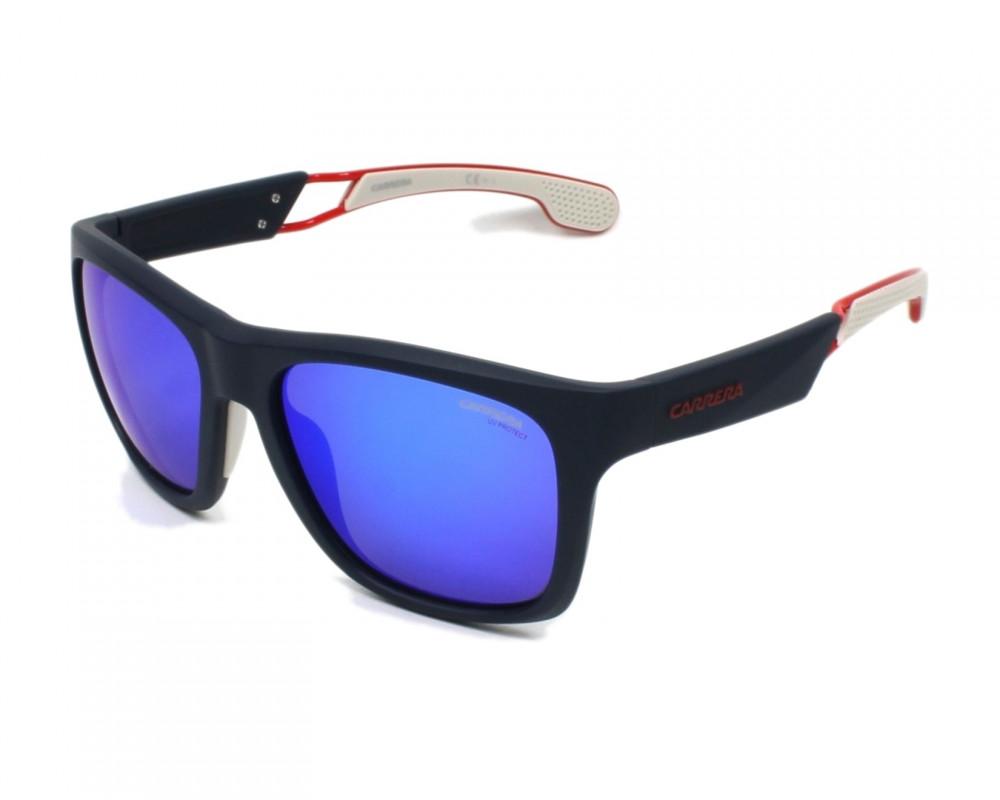 نظارة كاريرا شمسية للرجال - شكلها مستطيل - لونها اسود - زكي للبصريات