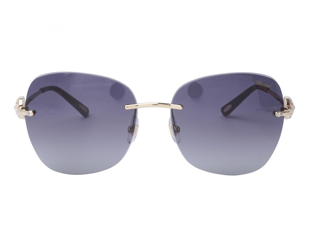 نظارات شوبارد نسائية شمسية - غير منتظمة الشكل - زكي