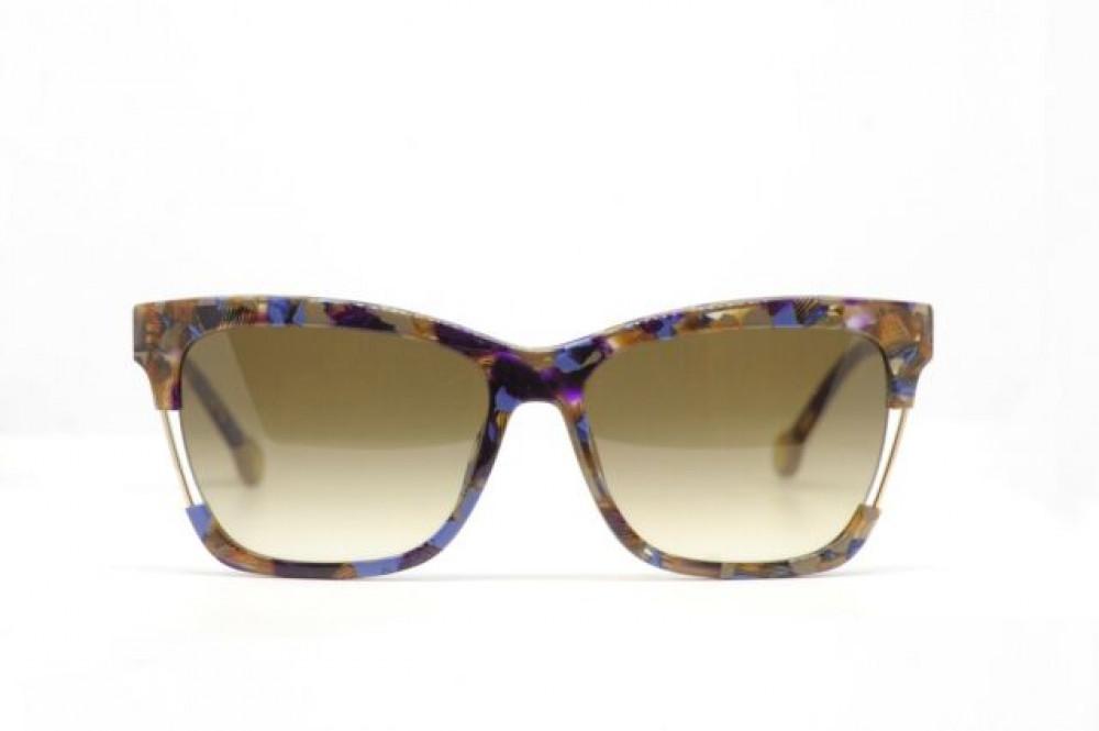 شراء نظارات كارولينا شمسية للنساء - شكل مستطيل - لون تايقر - زكي