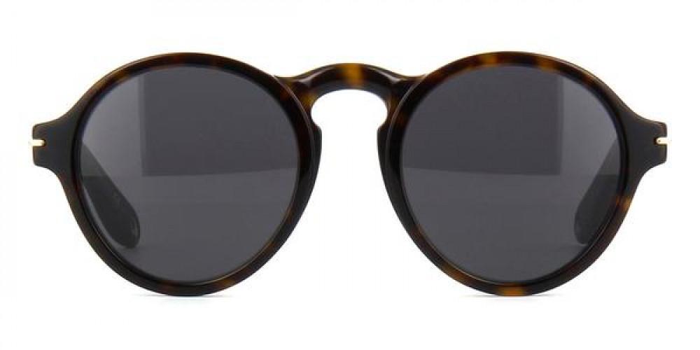 سعر نظارة جيفنشي شمسية رجاليه - شكل مربع - باللون الأسود - زكي للبصريا
