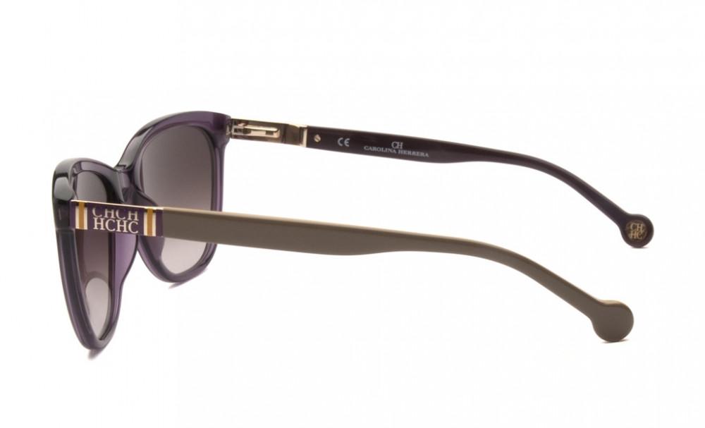 احسن نظارات كارولينا شمسية للنساء - شكل مربع - لون بنفسجي - زكي
