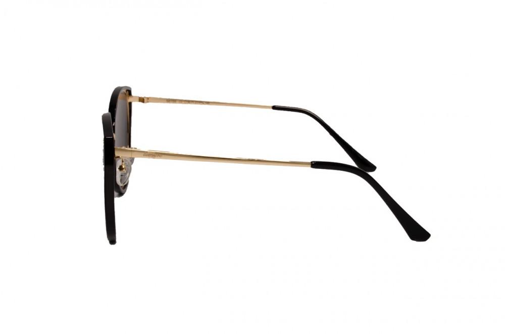 اسعار نظارة لومير شمسية للجنسين - شكل كات أي - لون أسود - زكي