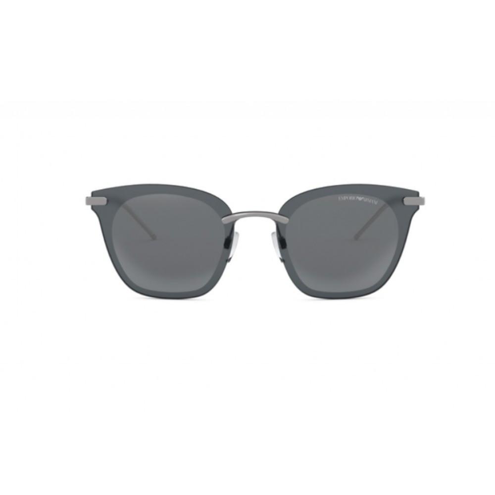 افضل نظارة امبريو ارماني شمسية للجنسين - واي فيرر - لون رمادي - زكي