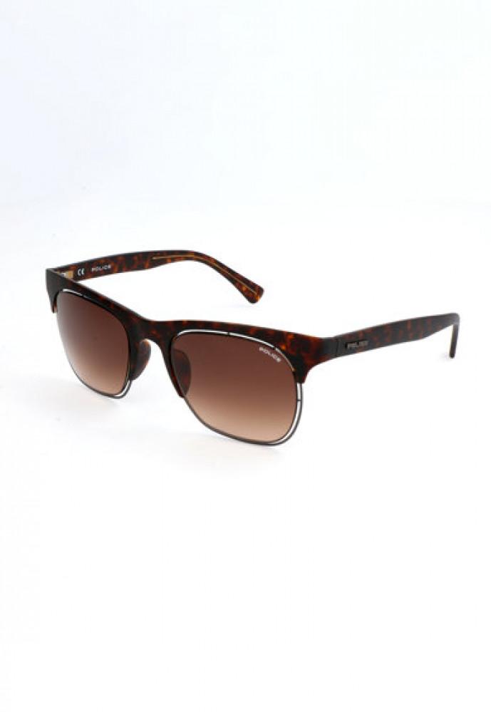 نظارة بوليس شمسية للرجال - شكل واي فير - لون تايقر - زكي للبصريات