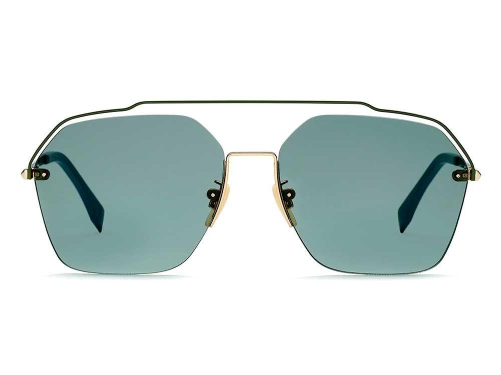 افضل نظارة فندي شمسية للجنسين - غير منتظمه الشكل - زكي للبصريات