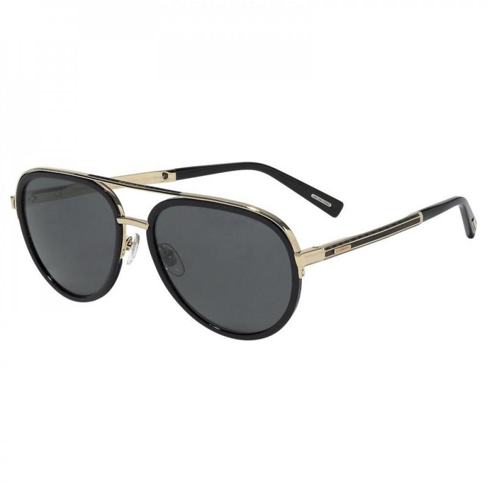 نظارة شوبارد شمسية للرجال - شكل أفياتور - باللون الفضي - زكي للبصريات