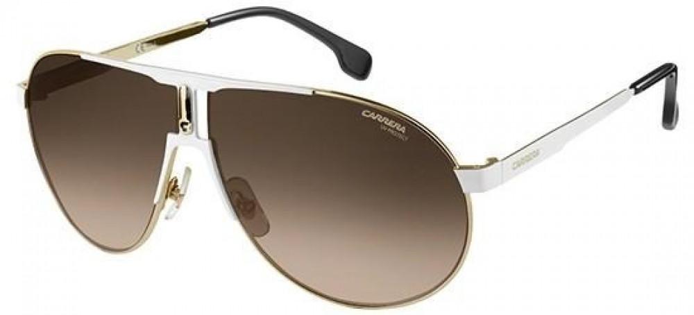 نظارات ماركة carrera شمسية للرجال - افياتور - لون فضي - زكي