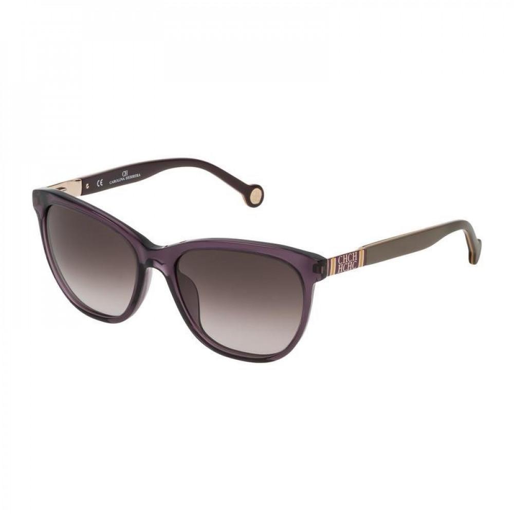 نظارات كارولينا شمسية للنساء - شكل مربع - لون بنفسجي - زكي