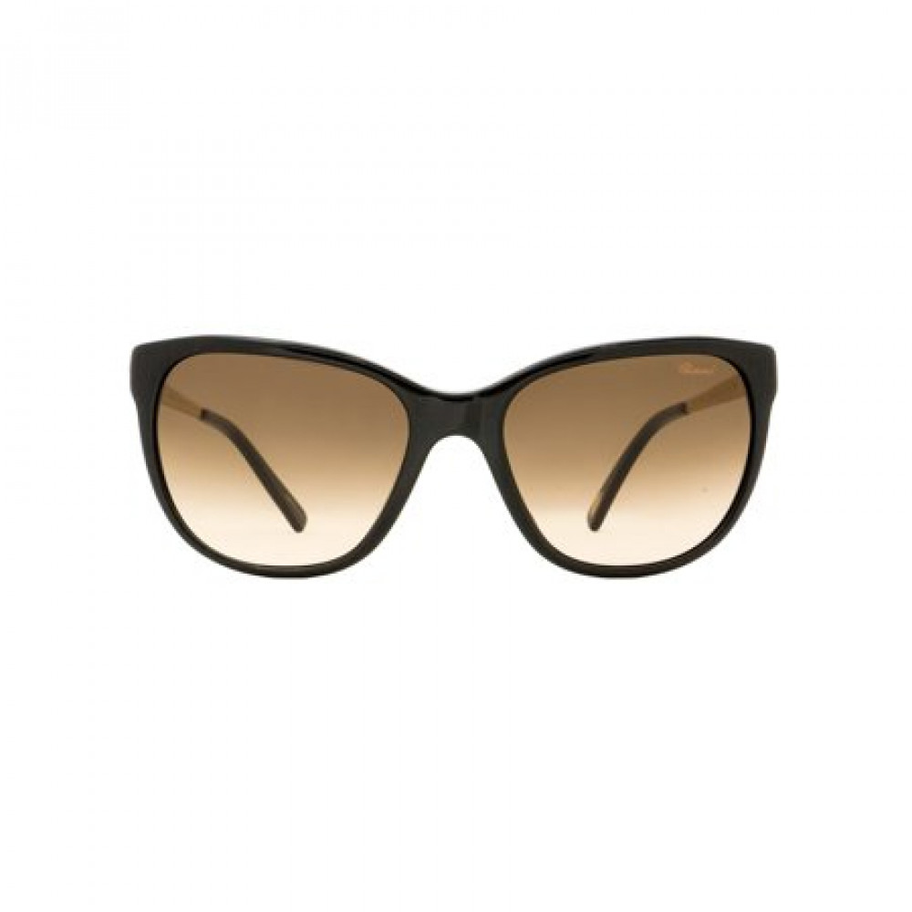 شراء نظارات شوبارد نسائية شمسية - شكل كات أي - لونها بني - زكي