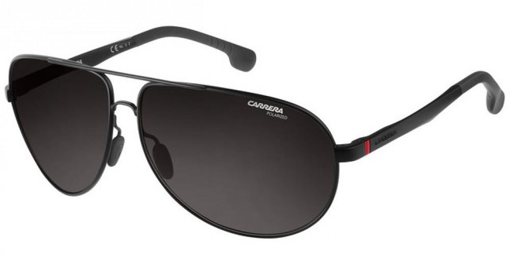 نظارة كاريرا شمسية رجاليه - شكل أفياتور - لون أسود - زكي للبصريات
